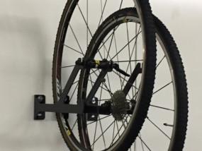 Muurbeugel fietswielen - Y-vork