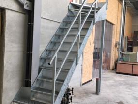 Op maat gemaakte trap
