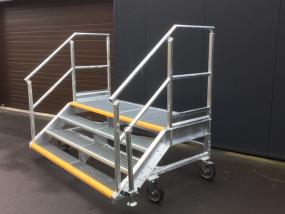 op maat gemaakte mobiele trap