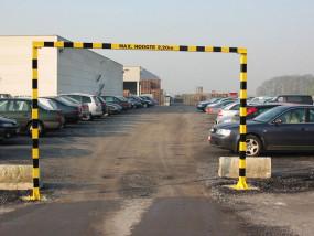 Doorrijbeugel parking / hoogte begrenzer parking